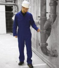 DV002 Warrior Stud Front Coverall